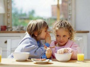 Desayuno infantil controla el desayuno de tus hijos
