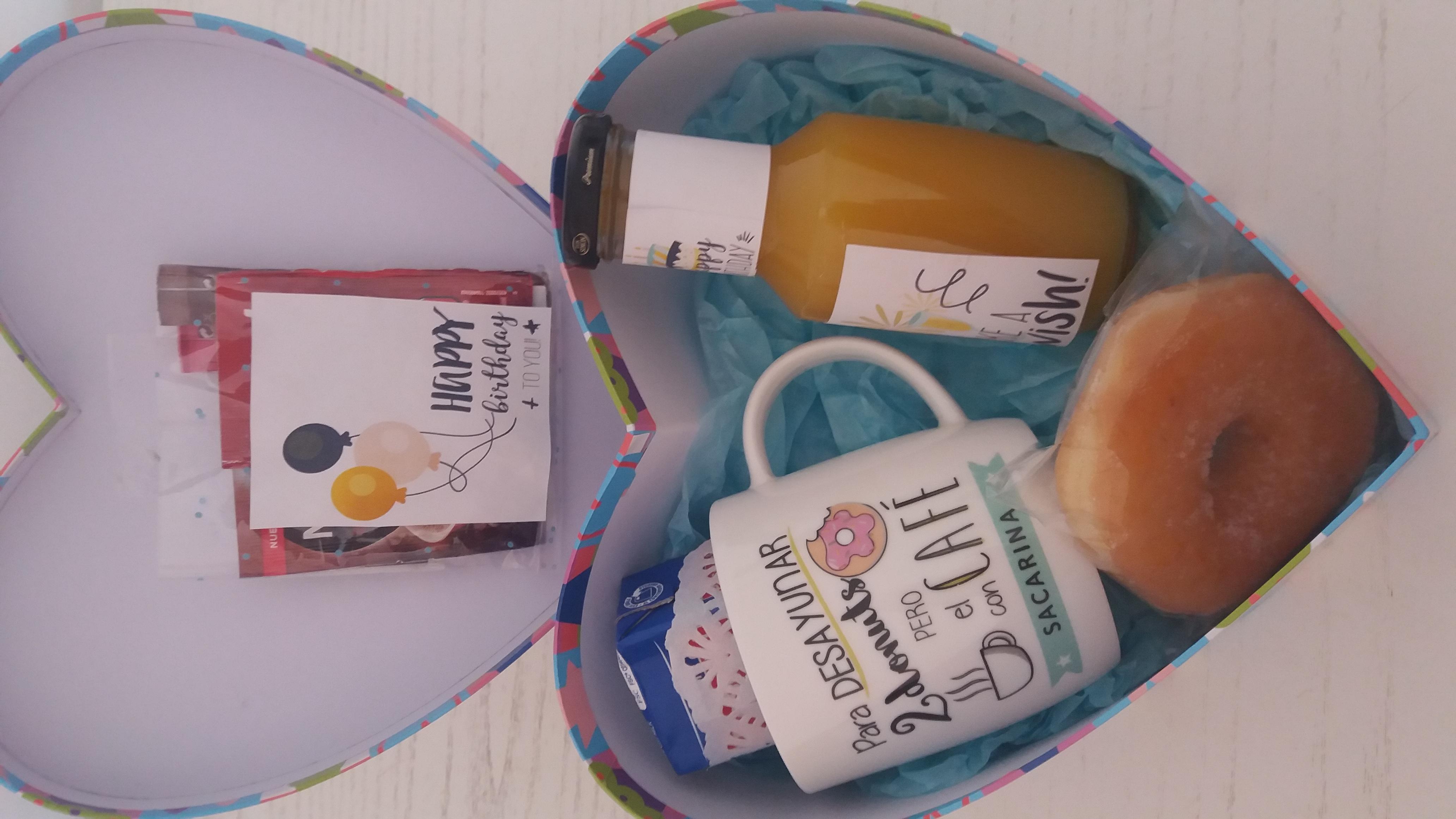 Desayuno eres especial, desayuno sorpresa